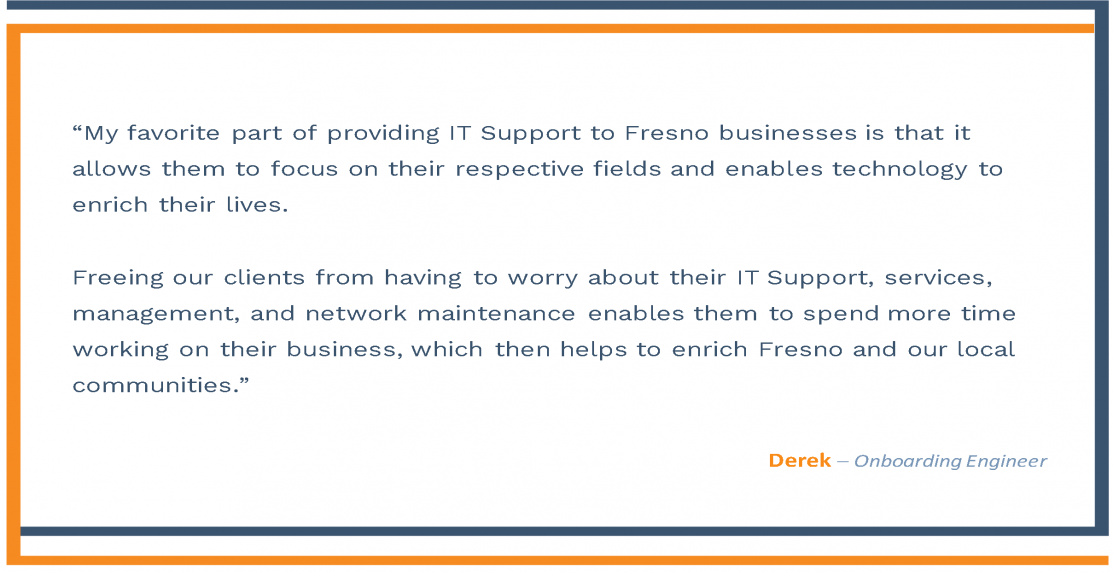 Fresno Employee Testimonial- Derrick