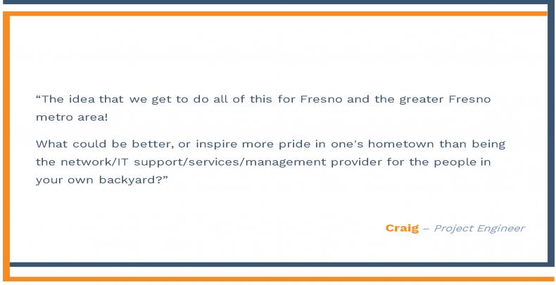 Fresno Employee Testimonial- Craig